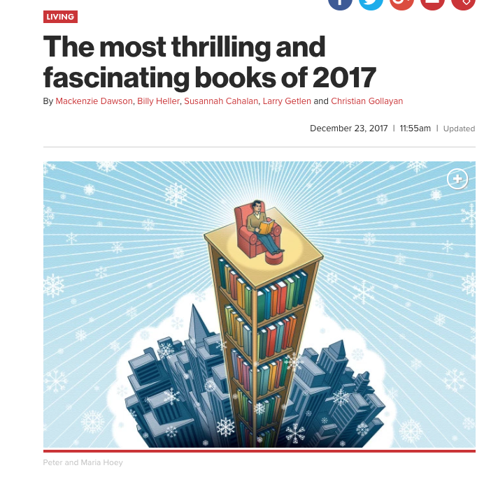 """The most thrilling and fascinating books of 2017"""" – The Cooperstown"""